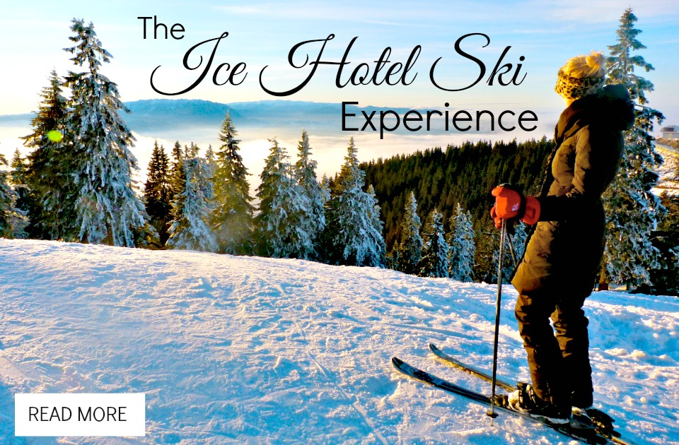 The Ice Hotel Ski Experience