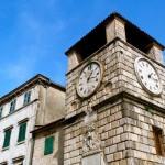 Montenegro town clock tower