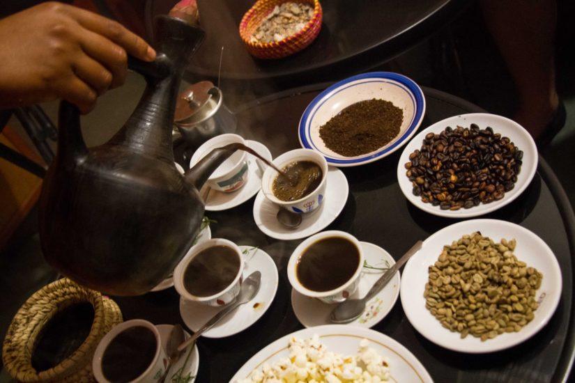 Coffee Ceremony in Ethiopia