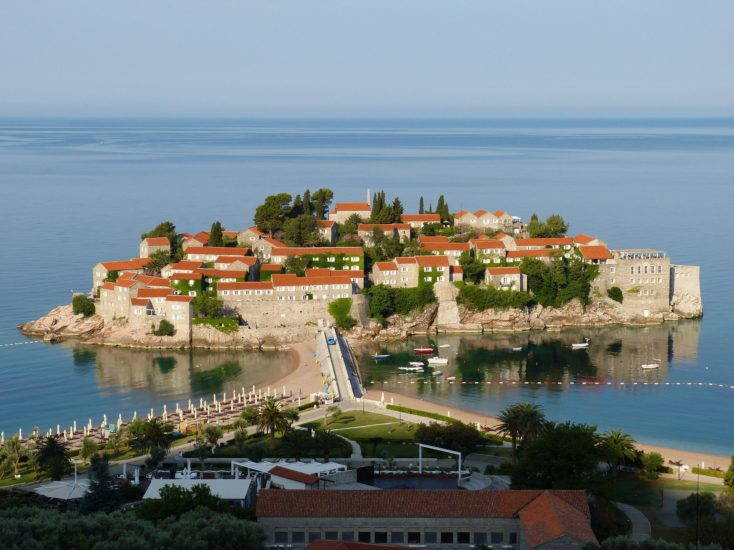 Sveti Stefan Island Montenegro