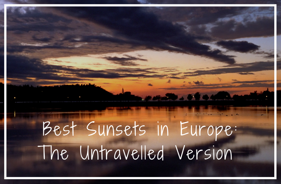 Best sunsets in europe
