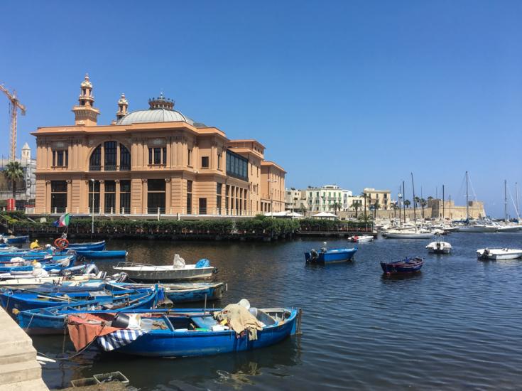 City of Bari in Italy