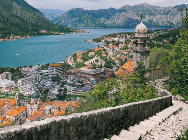 View from Kotor City walls