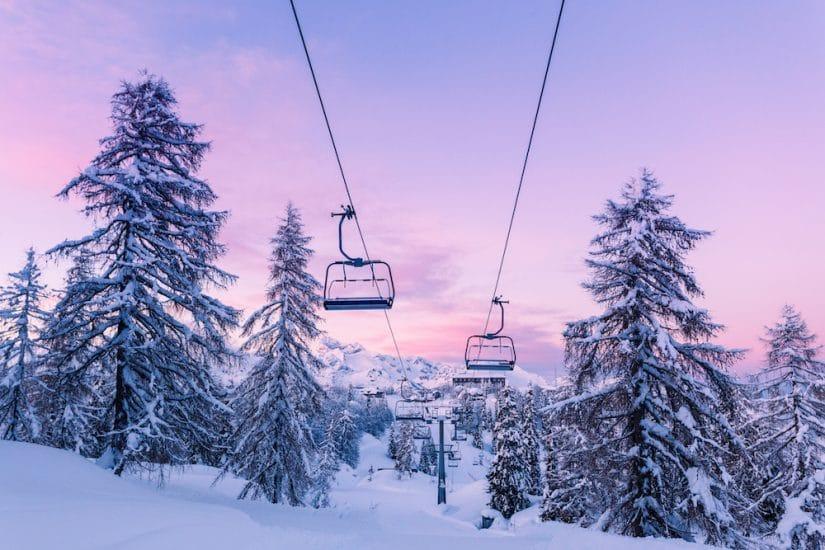 Ski lifts in Slovenia
