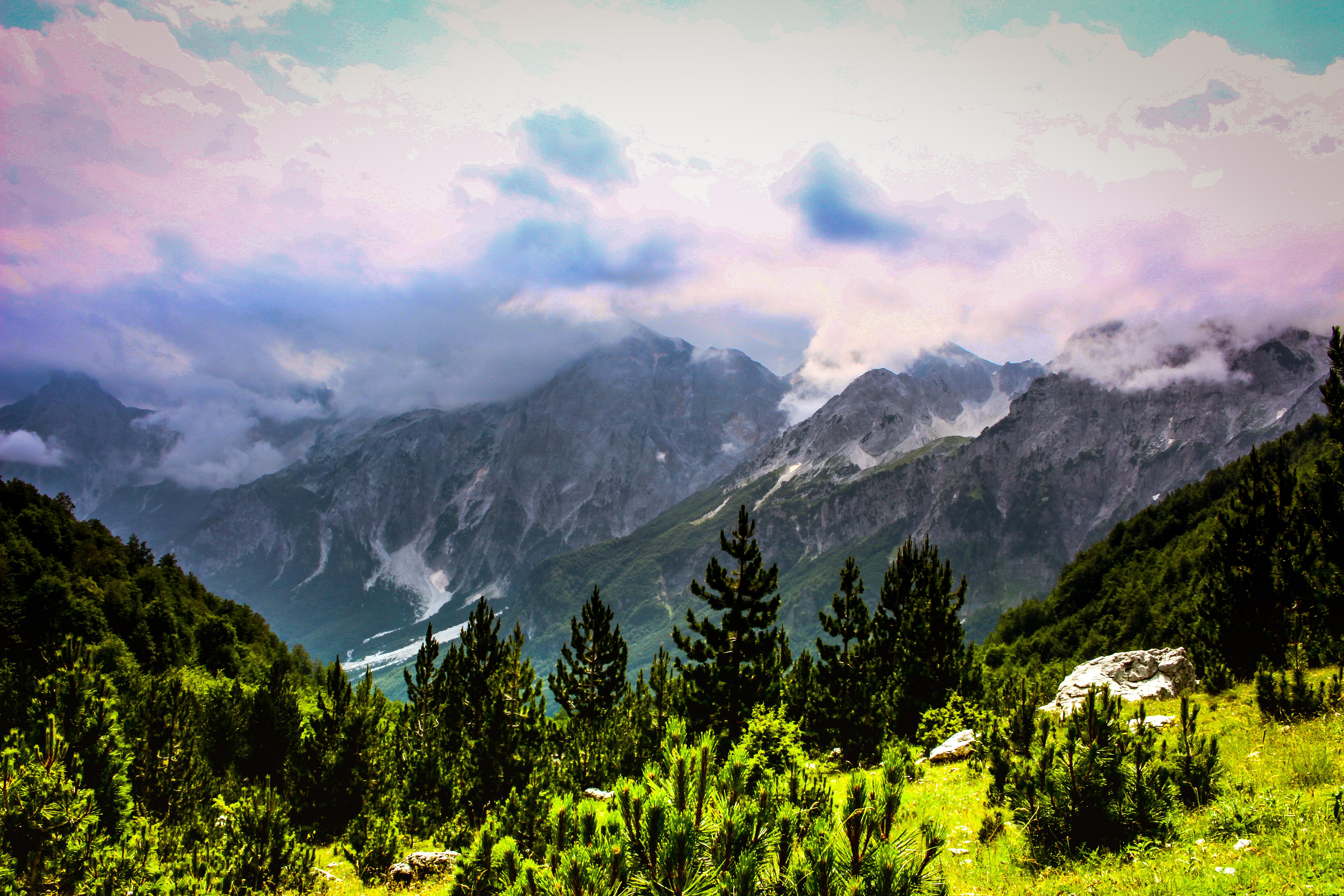 albanian-alps