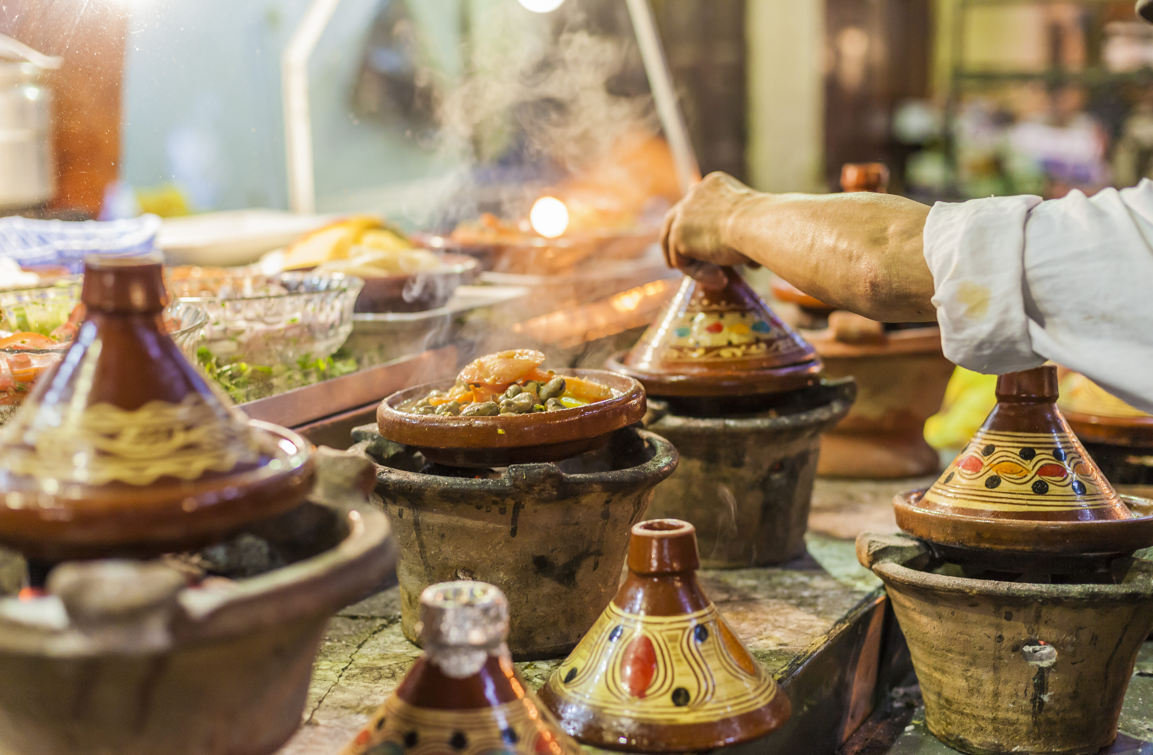 The Food of Morocco: Chicken Tagine with Olives and Lemon