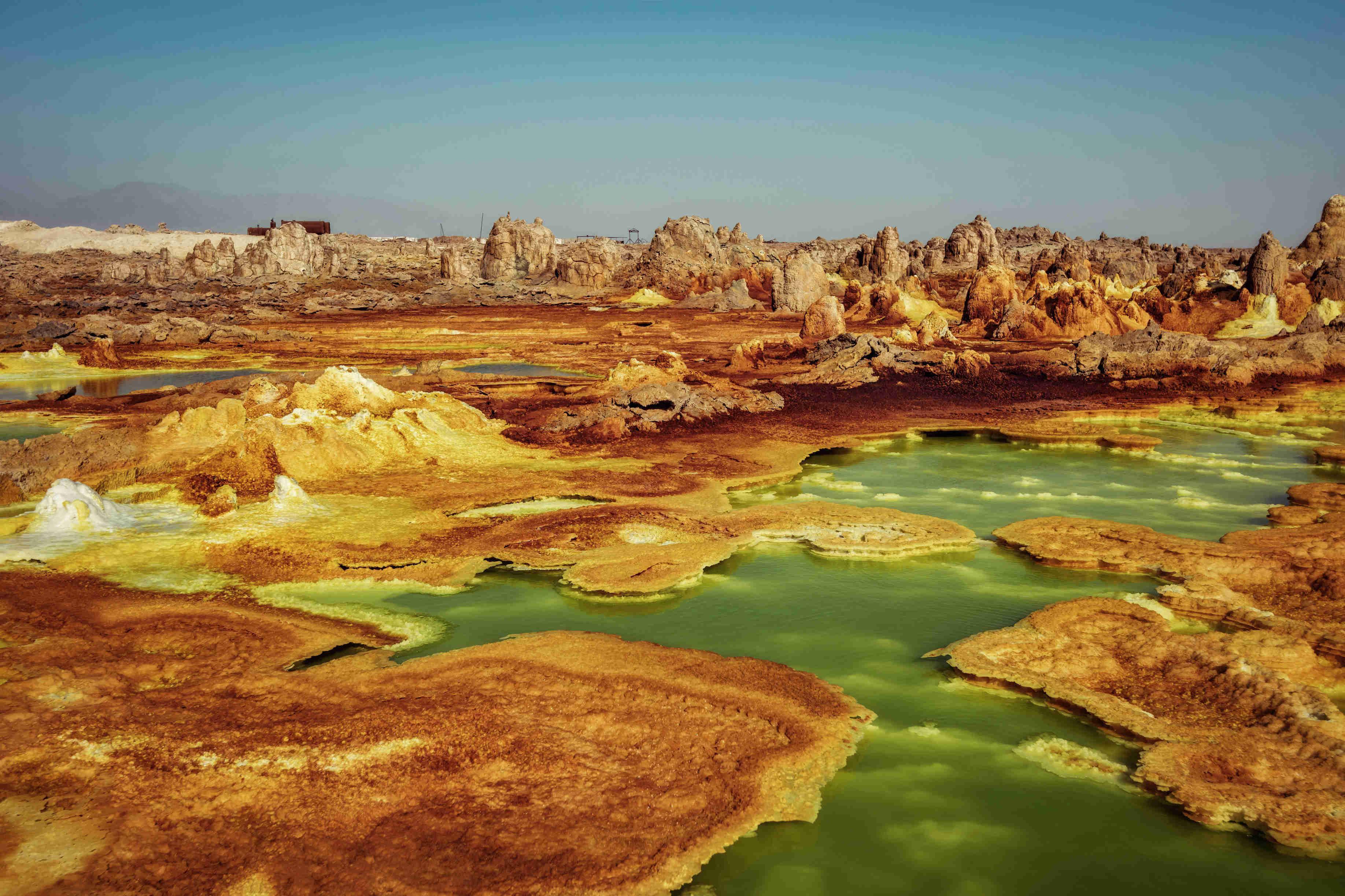 Danakil Depression: Like No Place on Earth