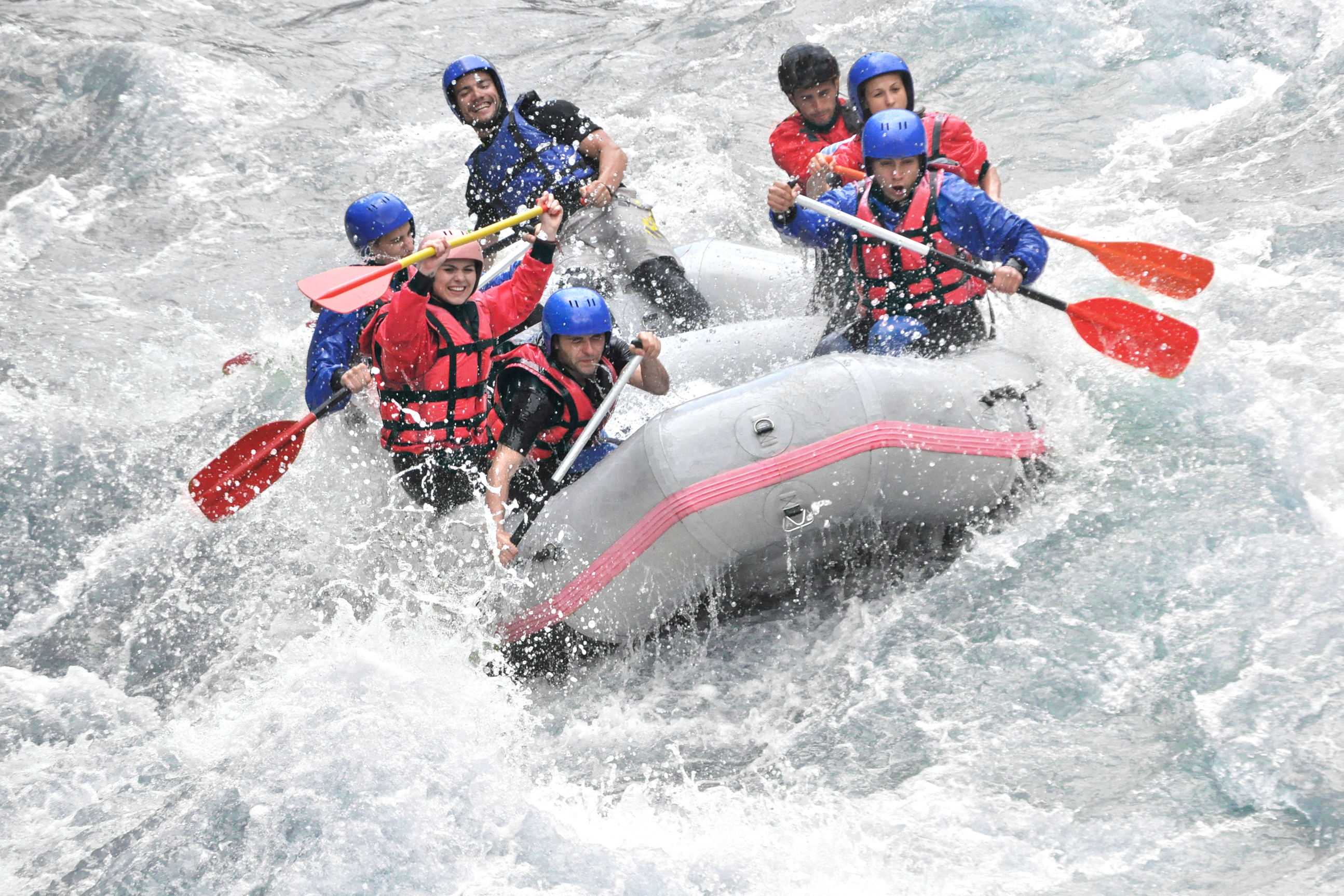 Itinerary Insight: White Water Rafting Experience