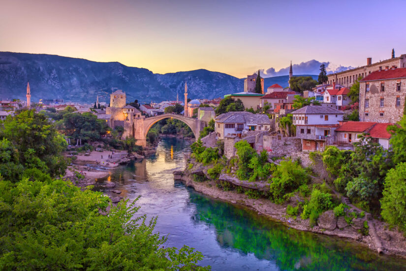 Old town of Mostar on The Mini Bosnia Experience