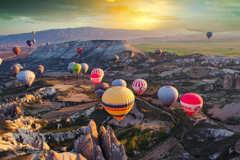 Cappadocia on the Hot Air Balloon Experience