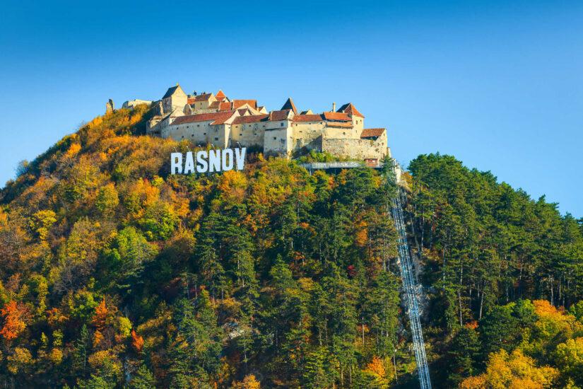 Rasnov Fortress, Transylvania