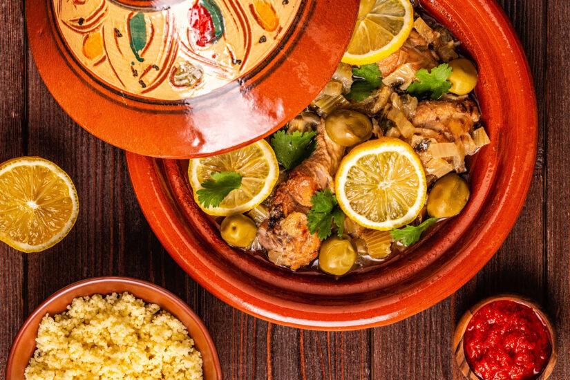 Moroccan food tagine