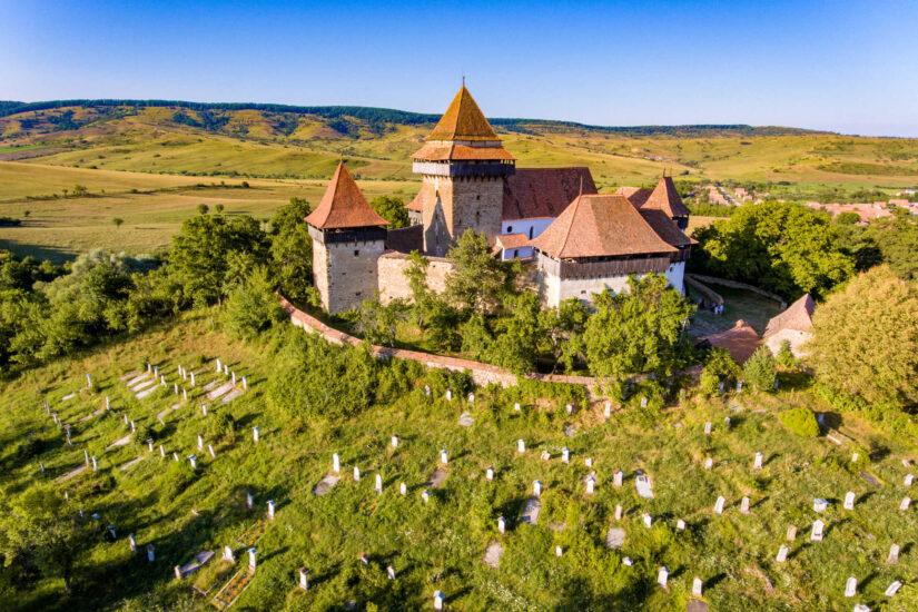 Viscri Village, Transylvania