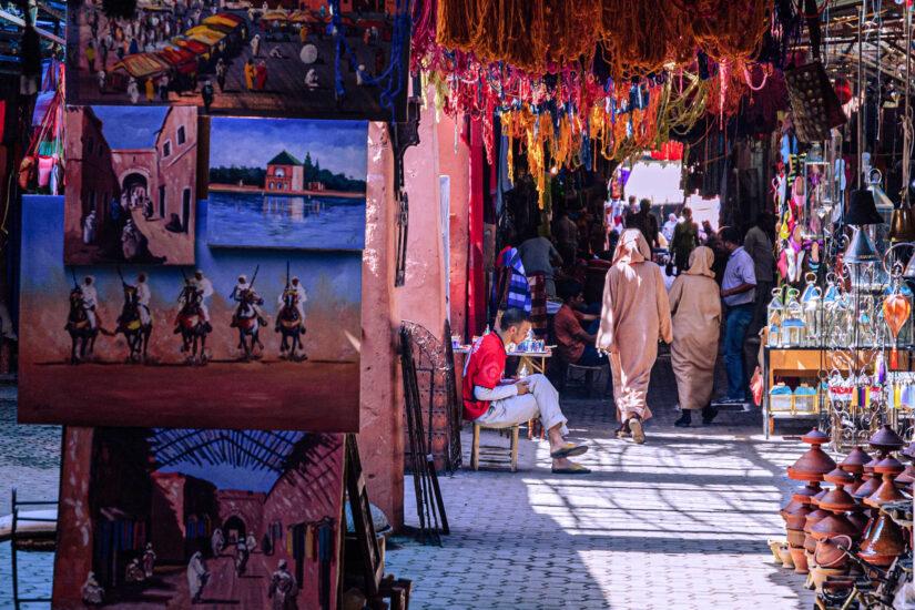 Marrakesh medina souks